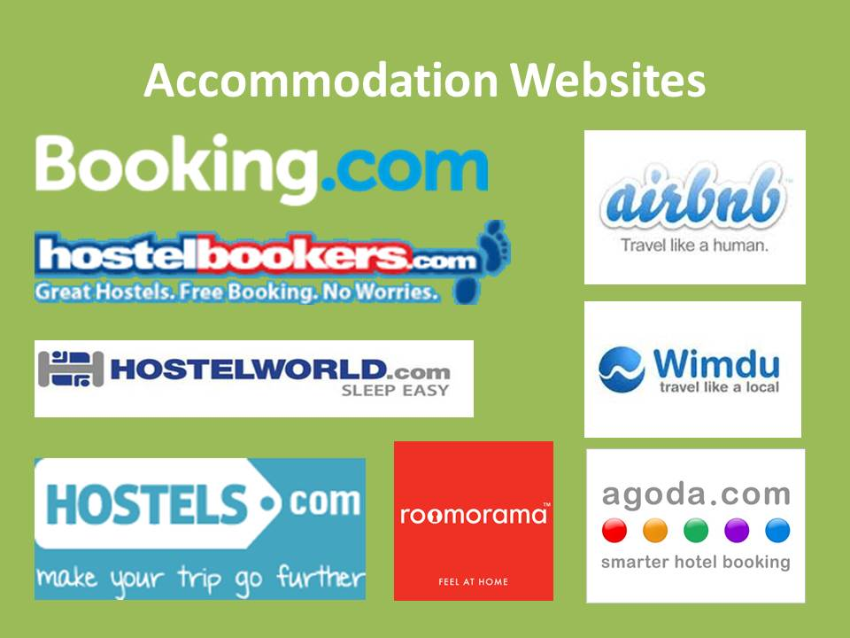 Accommodation Websites